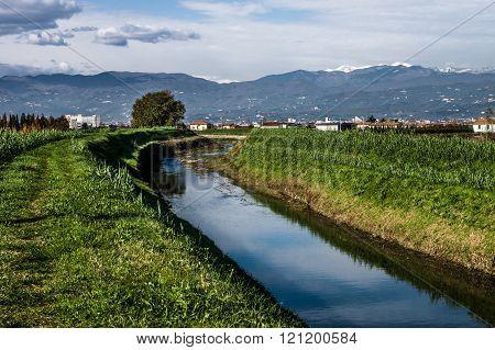 Abetone's Mountain Landscape, Italy