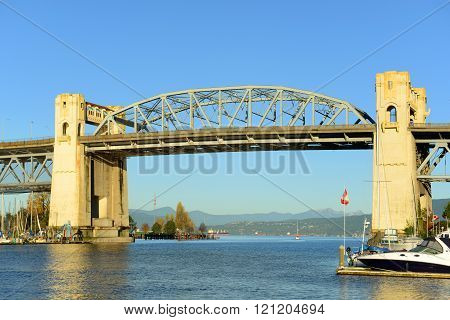 Vancouver Burrard Bridge, Canada