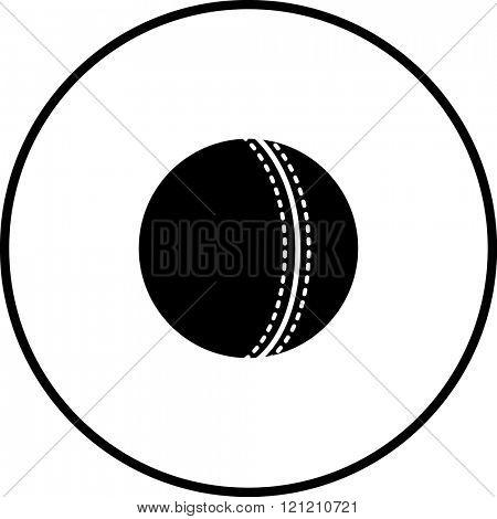 cricket ball symbol