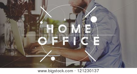 Home Office Business Wokrplace Residence Living Concept