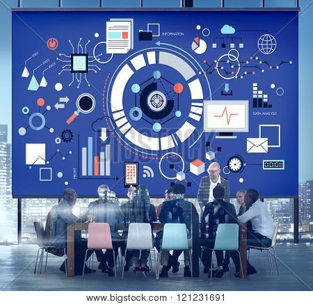 Conference Business Plan Office Concept