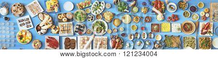 Food Festive Restaurant Party Unity Concept