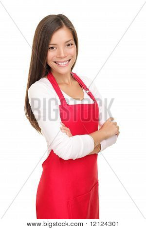 Barista Woman / Small Shop Owner Portrait
