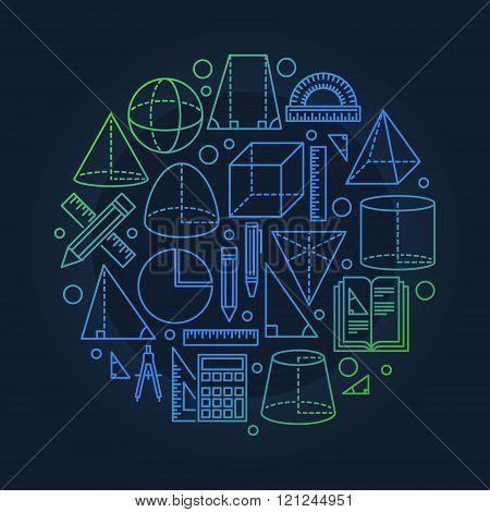 School geometry background