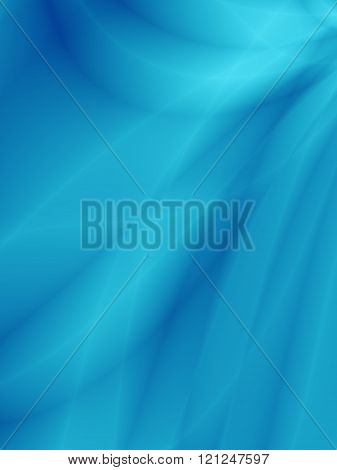 Blue background with flowing lines