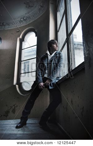 Fashion style photo of a man