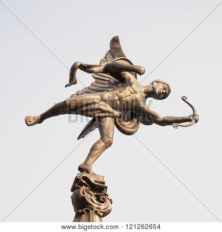The Familiar Statue Of Eros