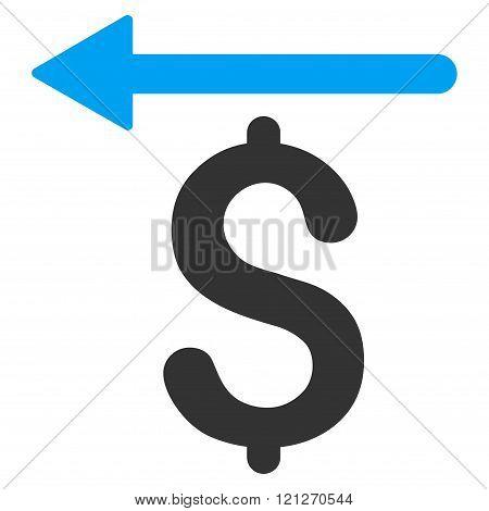 Moneyback Flat Vector Icon