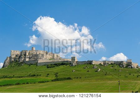 Spis Castle In Eastern Slovakia