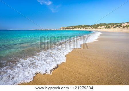 Gorgeous beach on the Australian Coastline