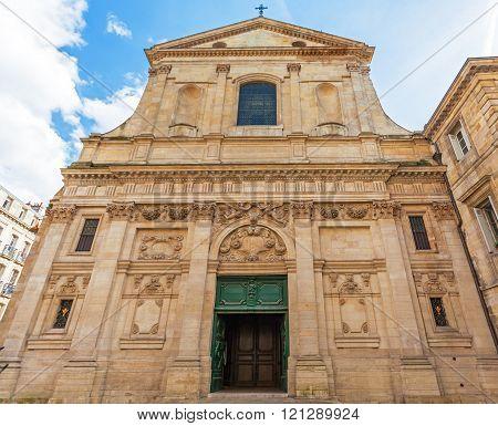 Dominican Eglise Saint Paul baroque style Bordeaux France poster