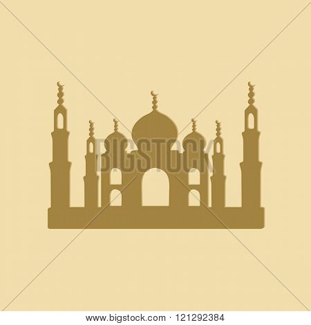 Taj Mahal Temple icons