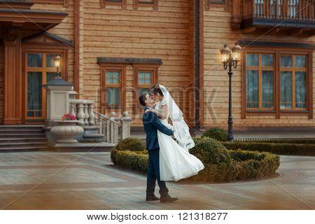 Groom Circling Bride