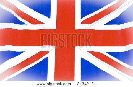 Abstract Great Britain Union Jack flack background