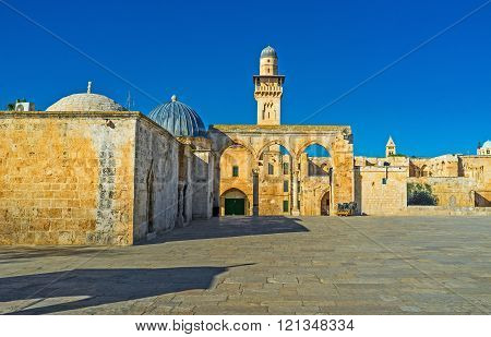 The Architectural Complex Of The Temple Mount