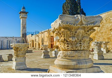 The Ancient Ruins On The Temple Mount