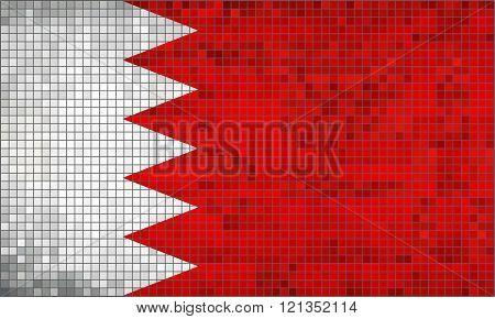 Flag Of Bahrain.eps