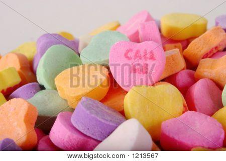 conversation heart valentine's candy
