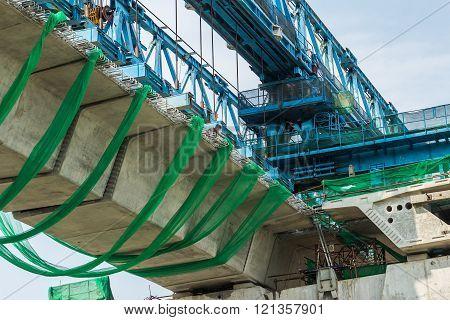 Construction Of Highway In Thailand