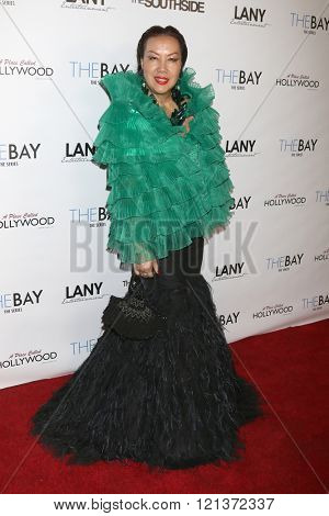 LOS ANGELES - MAR 10:  Sue Wong at the 5th Annual LANY Entertainment Mixer at the Saint Felix on March 10, 2016 in Los Angeles, CA