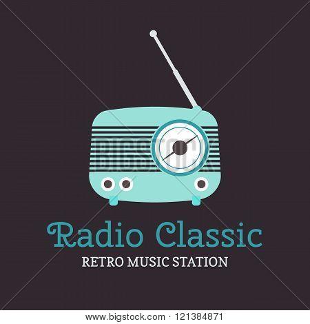 Radio Station Logotype