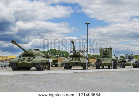 Soviet Tanks - Exhibits Military Equipment