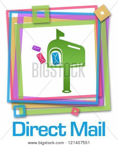 Direct Mail Colorful Frame