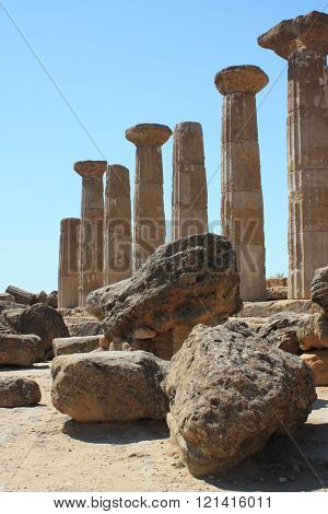 The Valley of the Temples, Agrigento, Sicily, Italy