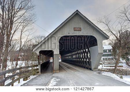 Middle Covered Bridge - Vermont