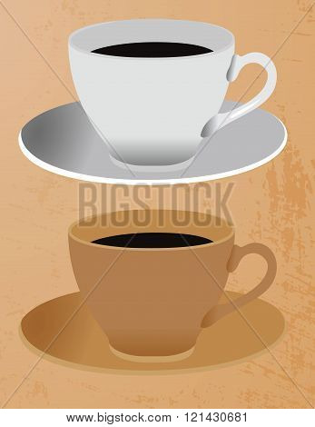 Two cup of coffe