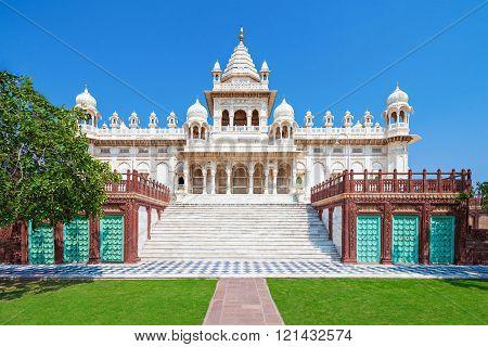 Jaswant Thada mausoleum in Jodhpur Rajasthan India poster