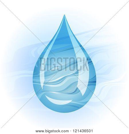 Blue Drop Water