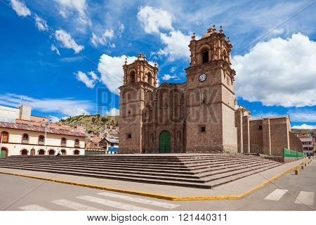 The Puno Cathedral