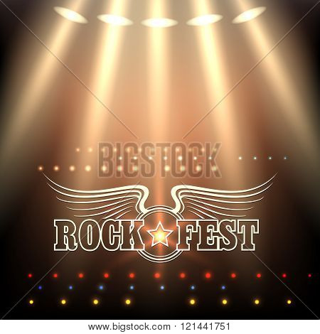 Rock Festival Poster Template