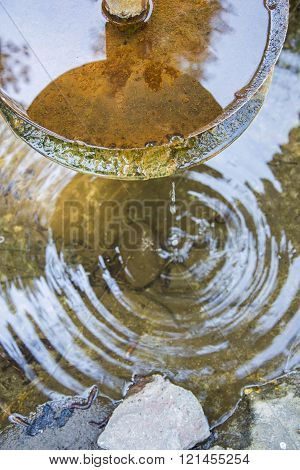 Dripping Water Feature