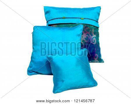 Thai silk pillows and pillows cases