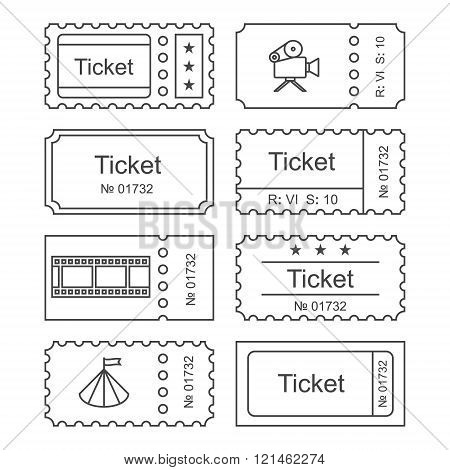 Ticket set icon