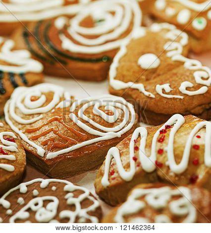 Varoius Homemade Gingerbread Cookies