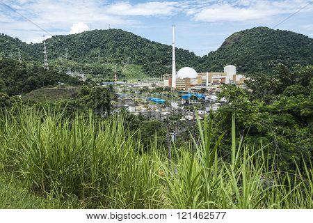 Angra Nuclear Power Plant, Rio de Janeiro, Brazil