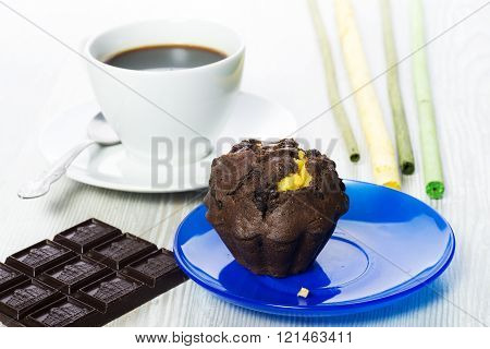 muffins and chocolate