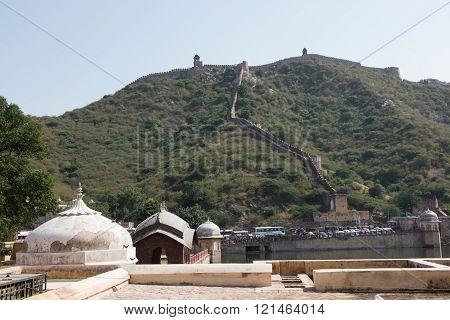 Aravalli Hills and Amer Fort
