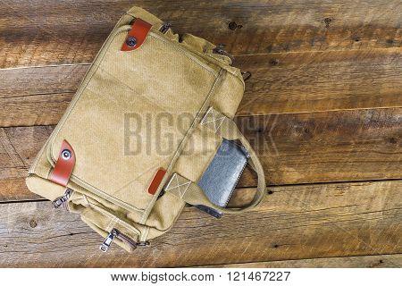 Bag Background Vintage Board