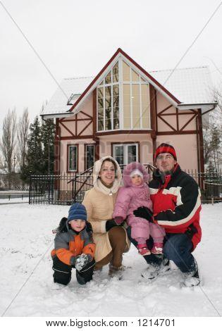 Winter Family House