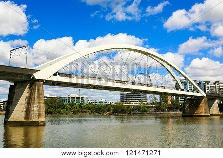 Rail Bridge, Brisbane, Australia