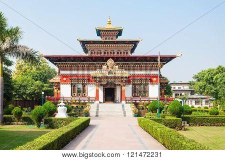 Bhutanese Temple, Bodhgaya