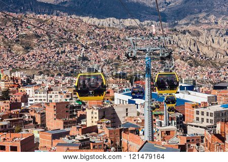 Cable Car, Lapaz