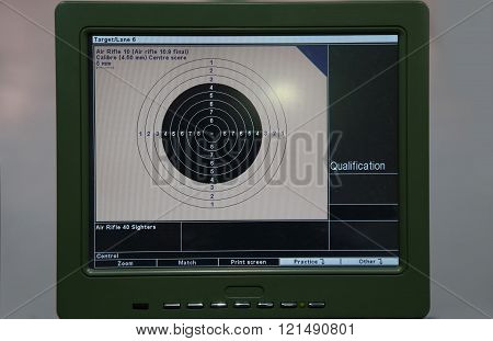 Training And Competition Of Air Rifle
