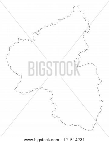 Map Of Rhineland-palatinate