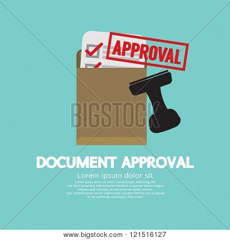 Document Approval Stamp.