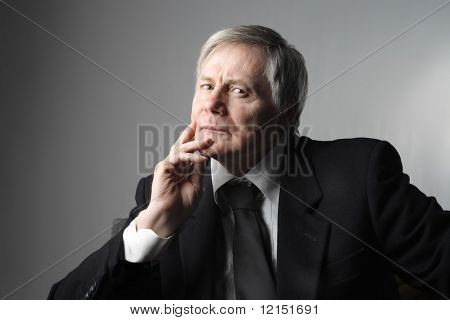 portrait of a manager